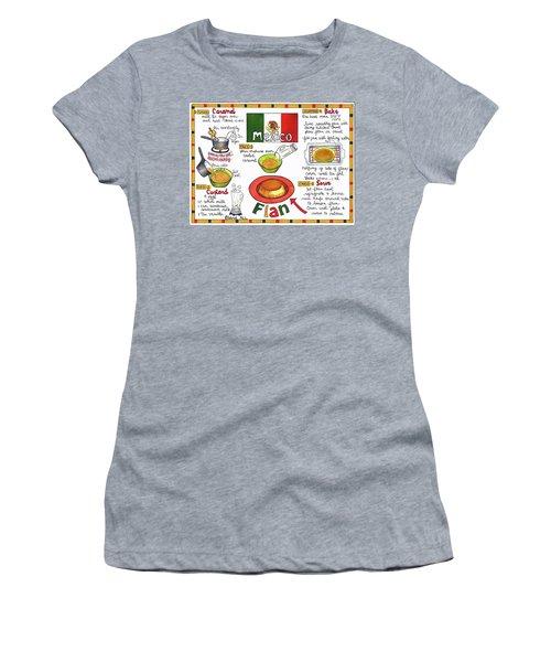 Flan Women's T-Shirt