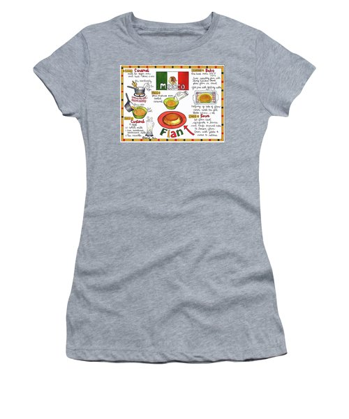 Flan Women's T-Shirt (Athletic Fit)