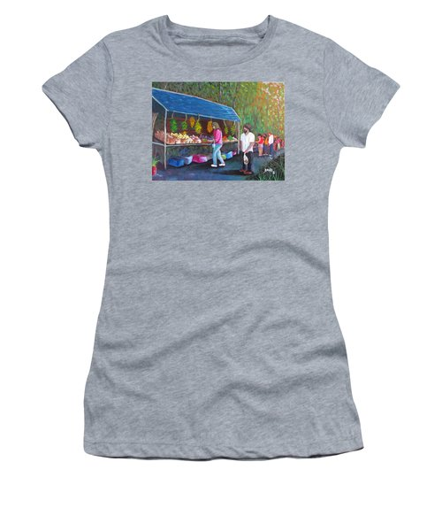 Flea Market Women's T-Shirt (Athletic Fit)