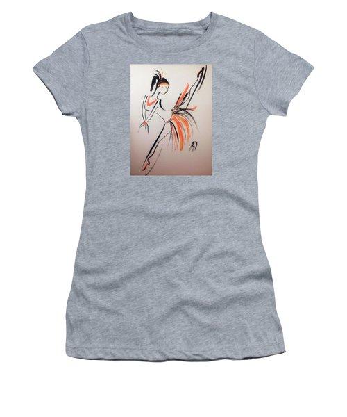Flight Of Fancy Women's T-Shirt (Athletic Fit)