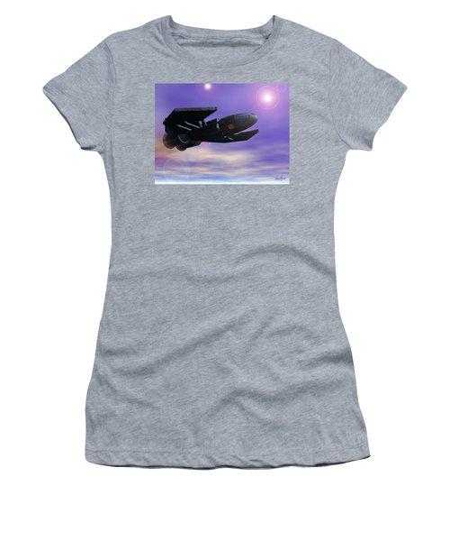 Women's T-Shirt (Junior Cut) featuring the digital art Flight Of The 501st Phoenix by Curtiss Shaffer