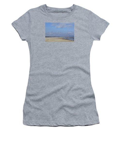 Women's T-Shirt (Junior Cut) featuring the photograph Flight by Tammy Schneider