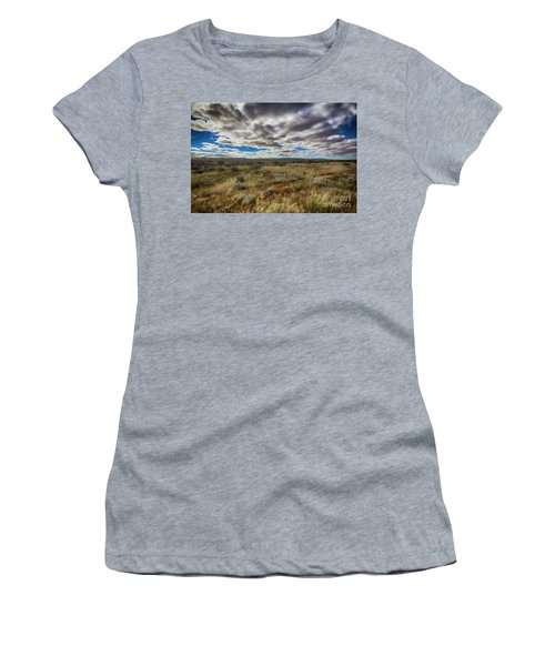Flinders Ranges Fields  Women's T-Shirt (Junior Cut) by Douglas Barnard