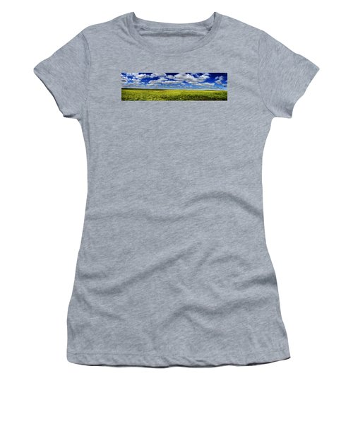 Flint Hills Panorama 1 Women's T-Shirt (Athletic Fit)