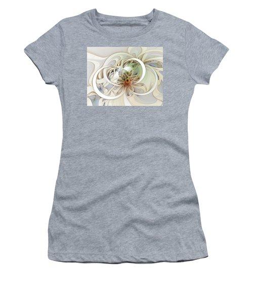 Floral Swirls Women's T-Shirt