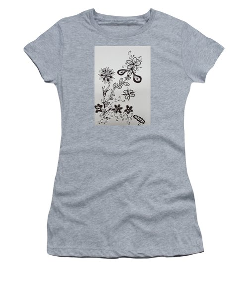 Flower 8 Women's T-Shirt (Athletic Fit)