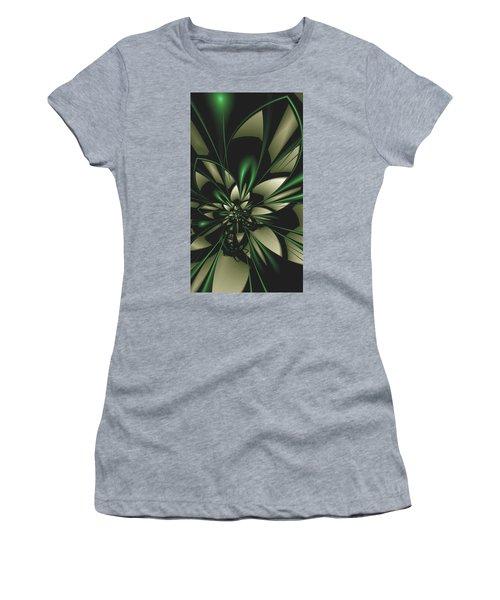 Flower Of Art Women's T-Shirt (Athletic Fit)