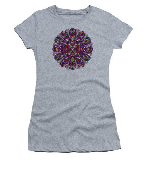 Flower Power Doodle Art Women's T-Shirt