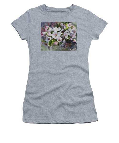 Flower_13 Women's T-Shirt (Athletic Fit)