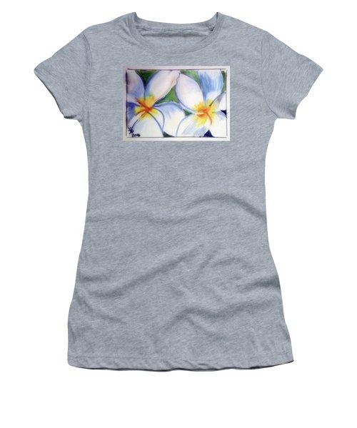 Flowers 3452 Women's T-Shirt (Junior Cut) by Loretta Nash