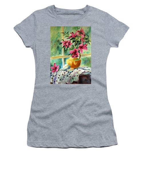 Flowers Shells And Lace Women's T-Shirt