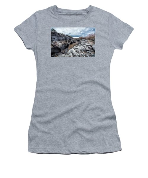 Flowing To The Storm Idaho Journey Landscape Art By Kaylyn Franks Women's T-Shirt