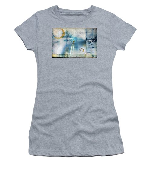 Flyboard - Freestyle Women's T-Shirt (Athletic Fit)