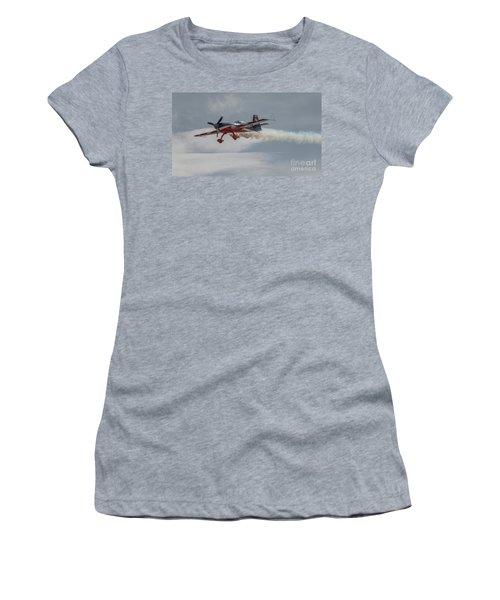 Flying Acrobatic Plane Women's T-Shirt