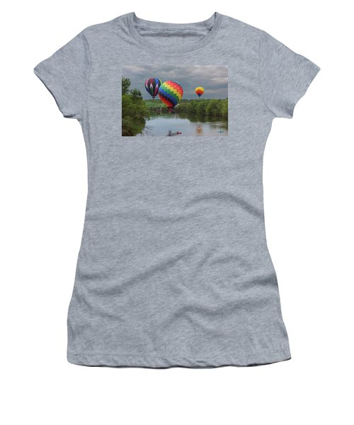 Flying Over The Androscoggin Women's T-Shirt