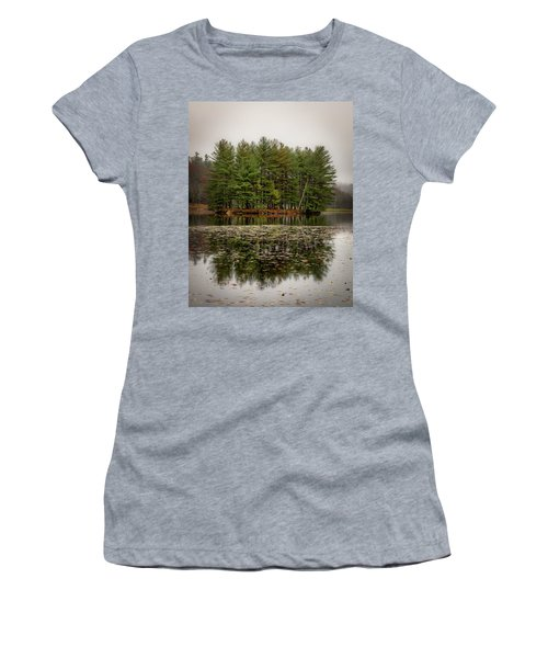 Foggy Island Reflections Women's T-Shirt