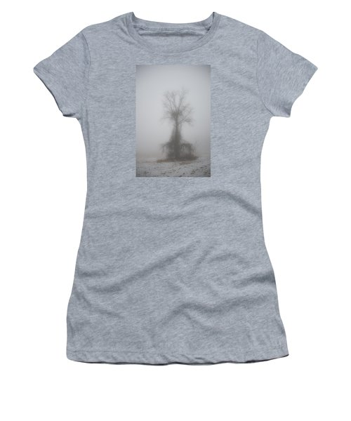 Foggy Walnut Women's T-Shirt (Junior Cut) by Wanda Krack