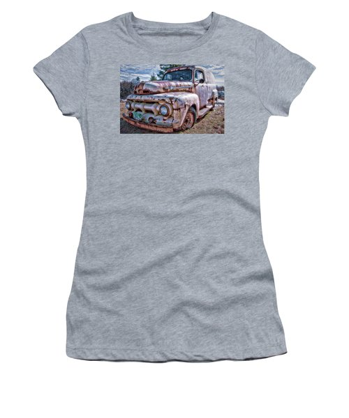 Ford Panel Truck Women's T-Shirt