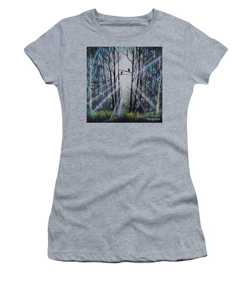 Forest Birds Women's T-Shirt