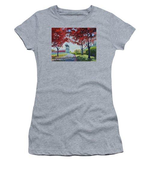 Forest Park Autumn Colors Women's T-Shirt (Athletic Fit)