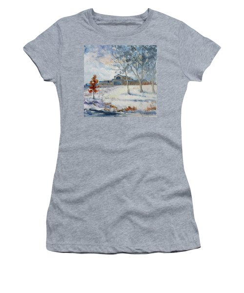 Forest Park Winter Women's T-Shirt (Athletic Fit)