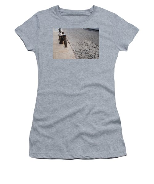Women's T-Shirt (Junior Cut) featuring the photograph Forgotten N Y by Rob Hans