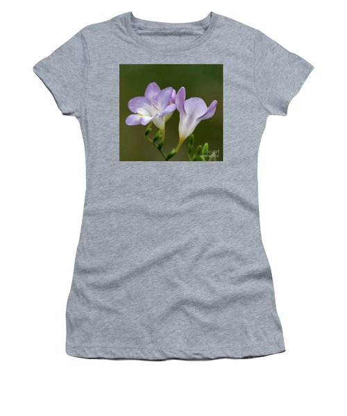 Fragrant Freesias 2 Women's T-Shirt (Athletic Fit)