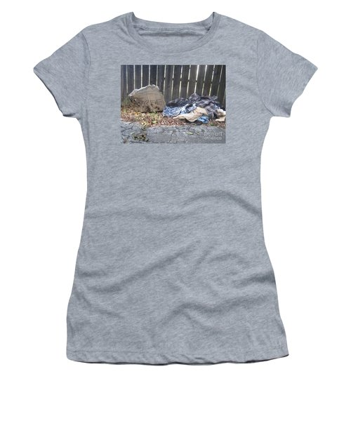 Women's T-Shirt (Athletic Fit) featuring the photograph Free by Marie Neder