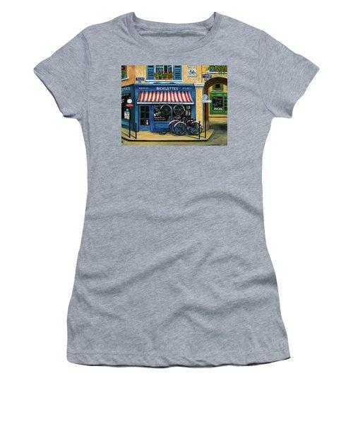 French Bicycle Shop Women's T-Shirt