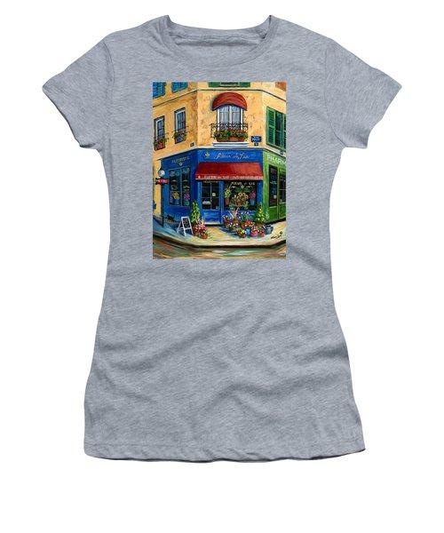 French Flower Shop Women's T-Shirt