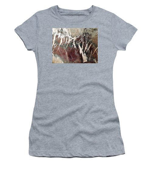 French Marble Women's T-Shirt (Junior Cut) by Therese Alcorn