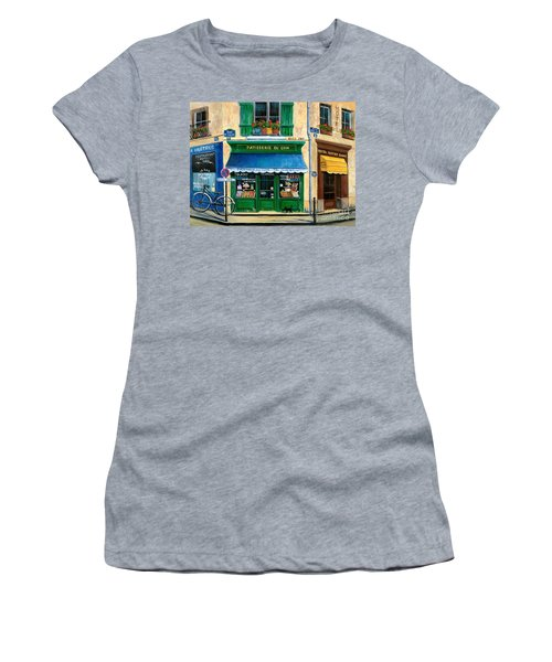 French Pastry Shop Women's T-Shirt