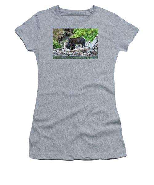 From The Great Bear Rainforest Women's T-Shirt (Junior Cut) by Scott Warner