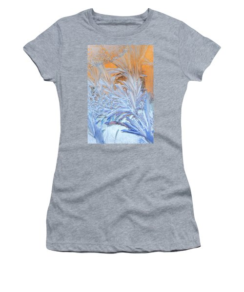 Frost Patterns On Window Women's T-Shirt