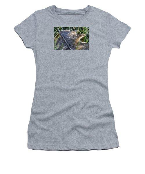 Frosty Autumn Women's T-Shirt (Junior Cut) by Nikki McInnes