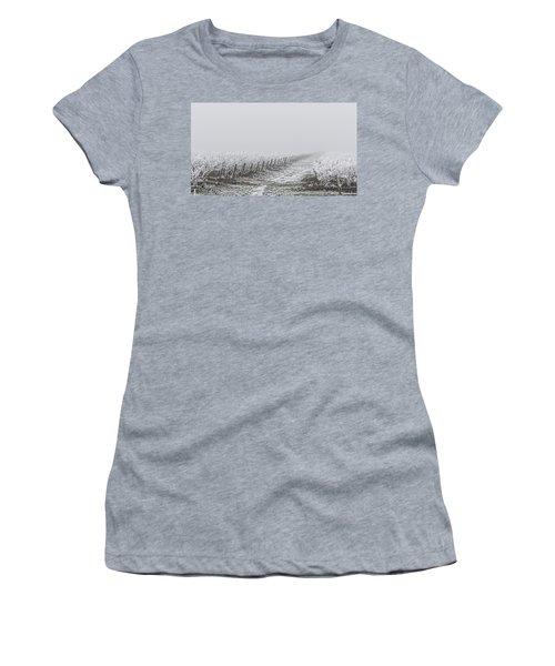 Frozen Blueberry Mist Women's T-Shirt (Athletic Fit)