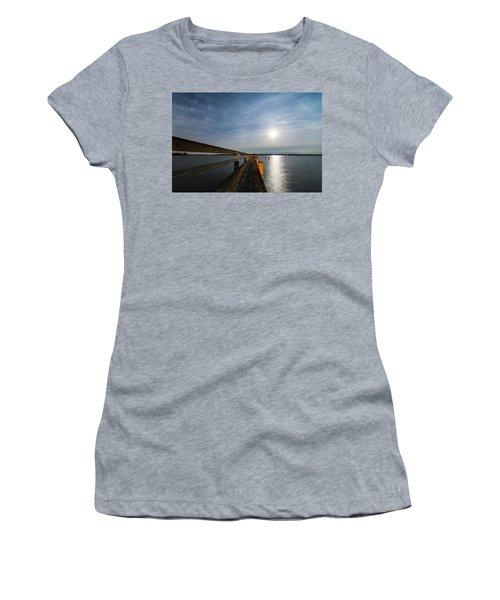 Full Moon Pier Women's T-Shirt