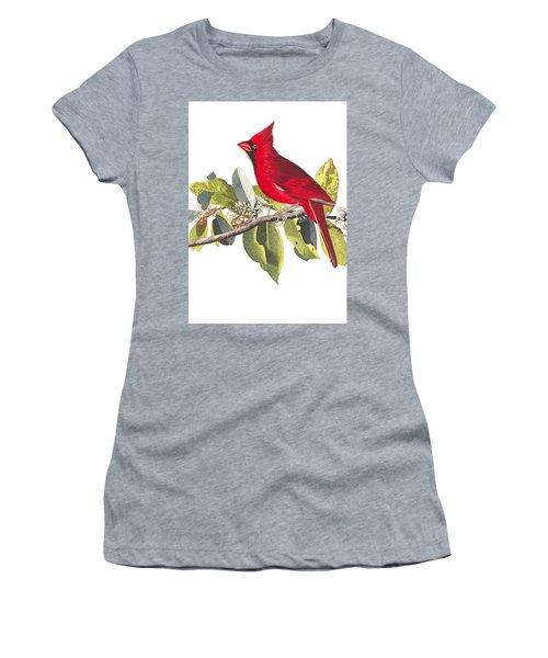 Women's T-Shirt (Junior Cut) featuring the photograph Full Red by Munir Alawi