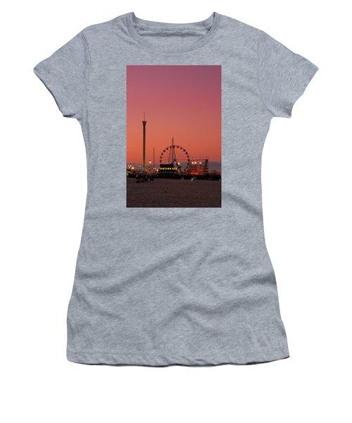 Funtown Pier At Sunset II - Jersey Shore Women's T-Shirt