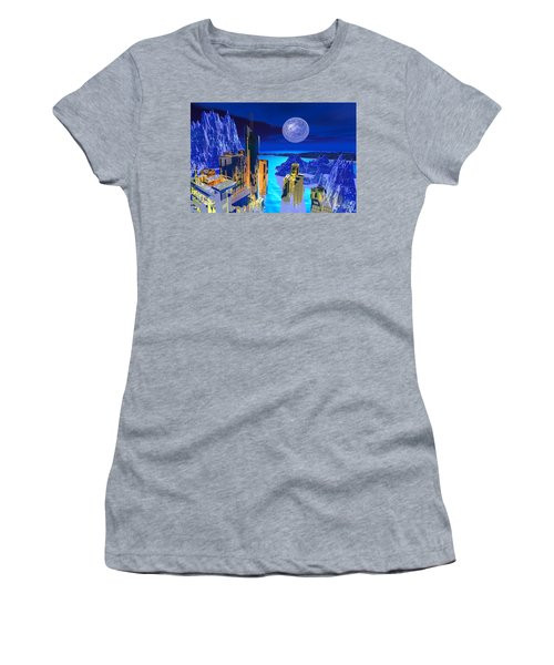 Futuristic City Women's T-Shirt