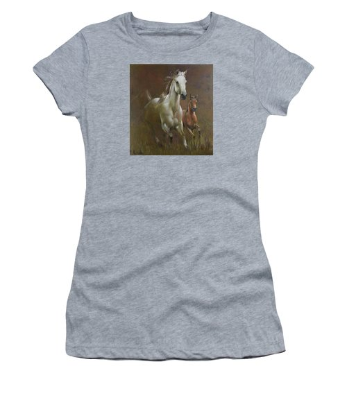 Gallop In The Eyelash Of The Morning Women's T-Shirt (Athletic Fit)