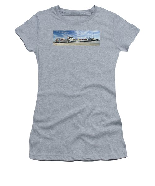 Galveston Pleasure Pier Women's T-Shirt (Athletic Fit)