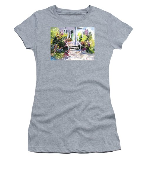 Galveston Welcome Women's T-Shirt (Athletic Fit)