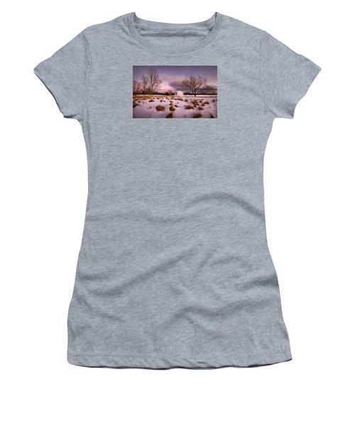 Garden Barn Women's T-Shirt (Junior Cut) by Robert Clifford