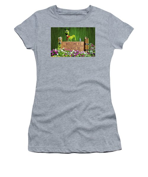 Garden Festival Mp Women's T-Shirt (Athletic Fit)