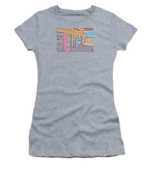 Gas Pumps Women's T-Shirt