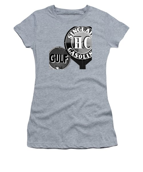 Gasoline Alley Bw Tee Women's T-Shirt (Athletic Fit)