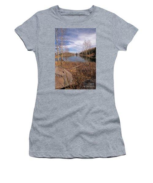 Gates Lake Ut Women's T-Shirt (Junior Cut) by Cindy Murphy - NightVisions