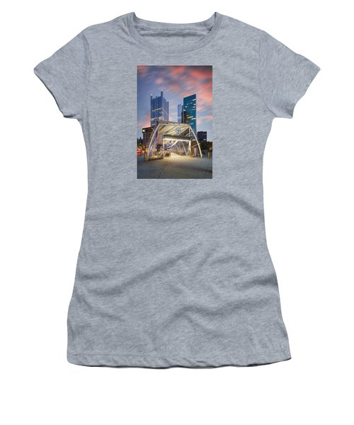 Gateway Station At Pittsburgh  Women's T-Shirt (Junior Cut) by Emmanuel Panagiotakis