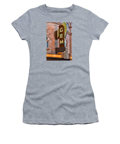 Gem Theater In Kansas City Women's T-Shirt (Athletic Fit)